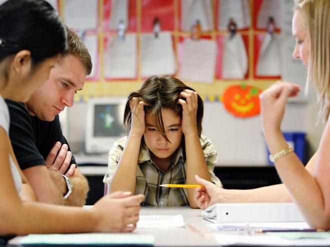 Cha mẹ không chê bai con về chuyện học tập